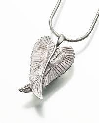 memorial pendants angel wings memorial pendants