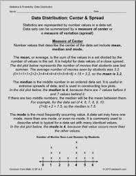 statistics for grade 6 data distribution practice math