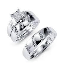 wedding rings trio sets for cheap wedding rings trio wedding ring set 14k yellow gold cheap gold