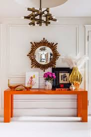 Orange Console Table Get Inspired By Luxurious Console Tables