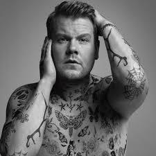 james corden rocks tattoos for wsj cover shoot