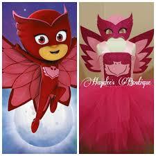 pj masks owlette tutu dress