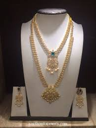 jewelry designs necklace sets images Designer gold necklace design by png jewellers latest jewellery jpg