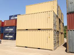 20ft new one trip general purpose steel shipping container