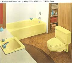 Bathroom Fixture Manufacturers Decorating A Yellow Bathroom Color History And Ideas From Five