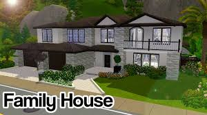 Home Design For The Sims 3 The Sims 3 A Modern U0026 Elegant Family House No Cc Youtube