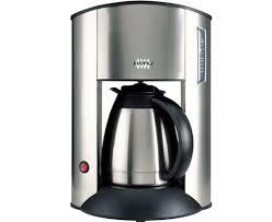 designer kaffeemaschinen de design kaffeemaschine edelstahlkanne heru ka 63003