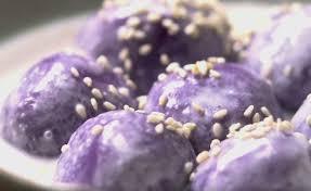 cuisine en violet ว ธ ทำ ขนมโคกะท ม นม วง ขนมไทยโบราณหาทานยาก