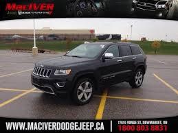 jeep cherokee black 2015 2015 black jeep grand cherokee limited newmarket ontario maciver