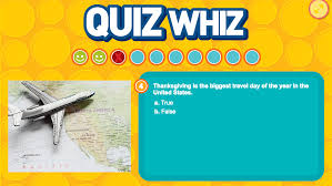 quiz whiz thanksgiving
