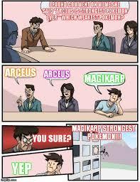 Arceus Meme - boardroom meeting suggestion meme imgflip