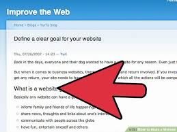 s website how to make a website designing building and testing
