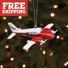 New Zealand Christmas Ornaments Sporty U0027s Piper Aztec Christmas Ornament From Sporty U0027s Pilot Shop