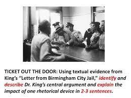 letter from birmingham city jail u201d dr martin luther king jr