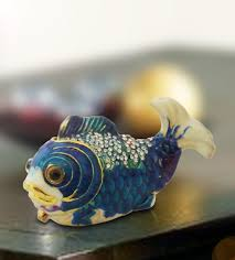 buy home decor items online wishbox blue fish online gift shopping india silver plated