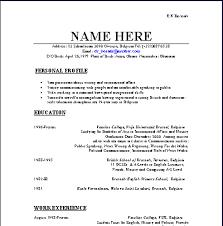 basic curriculum vitae layouts 7 basic cv layout synopsis exle