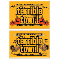 pittsburgh steelers and thanksgiving 2 magnets