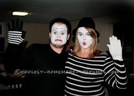 Mime Halloween Costumes Creative Mime Couple Halloween Costume Couple Halloween
