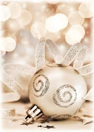 tree ornament bauble decoration bokeh abstract