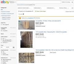 Schlafzimmerm El Ebay Kleinanzeigen ᐅ Europaletten Kaufen Paletten Angebote Ratgeber ᐅ Günstig