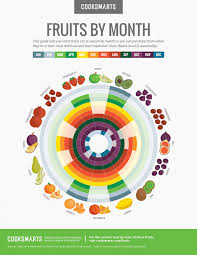 fruit of the month fruits by month guide visual ly