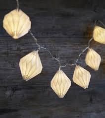 led lights for paper lanterns origami paper lantern light garland led electric plug in