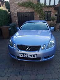 lexus gs430 engine management light lexus gs 450 hybrid light blue silver colour in pinner london