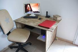 faire un bureau en bois bureau awesome fabrication d un bureau en bois hd wallpaper