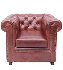 Vintage Chesterfield Sofas Gentleman S Club Single Seater Chesterfield Sofa Studioochre
