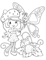 awesome strawberry shortcake color pages 12 with additional free