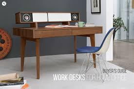 Best Desk L For Home Office Interior Best Work Desks For The Home Office Modern Offices