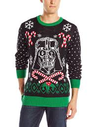 wars s vader scarf sweater black small at s