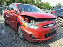 hyundai accent gls 2012 salvage vehicle title 2012 hyundai accent sedan 4d 1 6l 4 for sale
