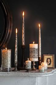 halloween decoration ideas for inside best 25 lace candles ideas on pinterest candles and