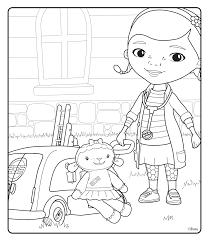 doc mcstuffins coloring pages getcoloringpages com