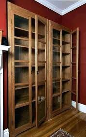 Bookcase With Glass Door Bookcase With Glass Doors Bookcases With Glass Doors Bookcase