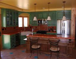 painted kitchen cabinets with stained doors total cabinets home