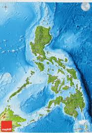 satellite map hd satellite 3d map of philippines physical outside