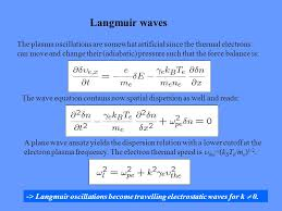 Kentucky how do electromagnetic waves travel images Plasma waves in the fluid picture i langmuir oscillations and jpg