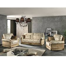 canape fabrique en canapé 3 places de style classique en tissu maxim fait en italie