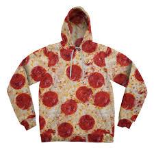 pizza hooded sweatshirt belovedshirts