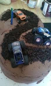 sawyer u0027s monster truck birthday cake i did he loved it cakes
