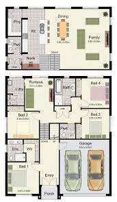 Sloping House Plans New Home Designs Sloping Block House Design Upstairs Living Plan