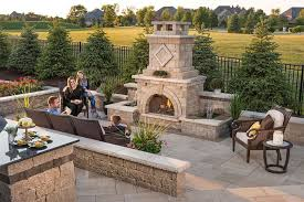 Backyard Fireplace Ideas Outdoor Fireplace Design Ideas Getting Cozy With 10 Designs Unilock