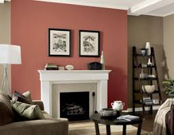 Paint Colors For Living Room Walls With Brown Furniture Interior Paint Ideas And Schemes From The Color Wheel
