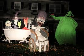 nightmare before yard decorations lizardmedia co