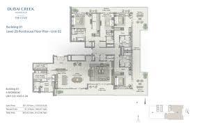 floor plans the cove dubai creek harbour by emaar