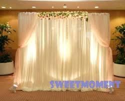 wedding backdrop stand curtain backdrop stand wedding backdrop curtain stand vuse