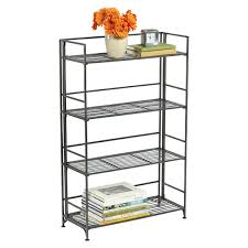 Foldable Bookcases Bookshelves Bookcases U0026 Free Standing Shelves The Container Store