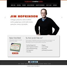 Online Resume Site by The Hopkinson Report Episode 165 How To Create A Personal